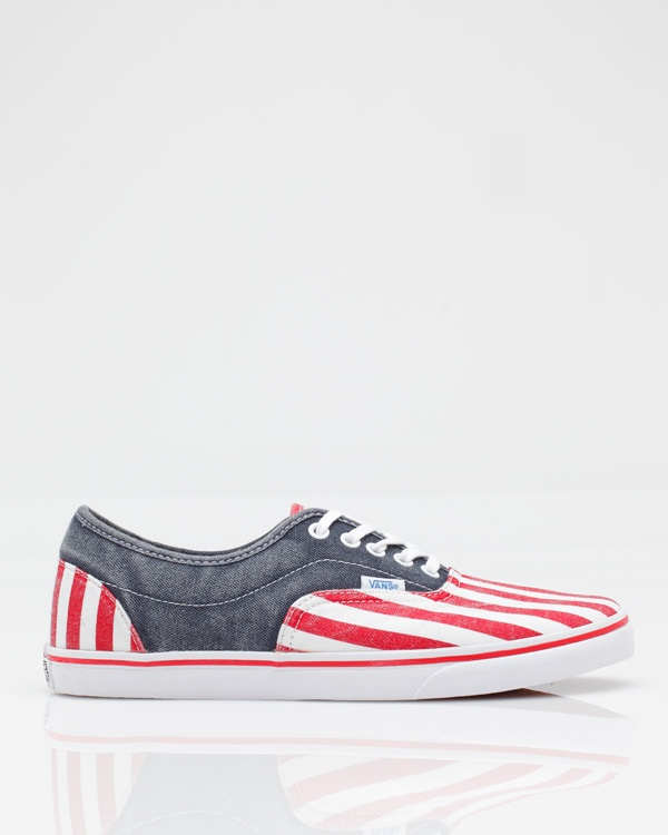 Vans LPE CA these would be awesome for the 4th of July