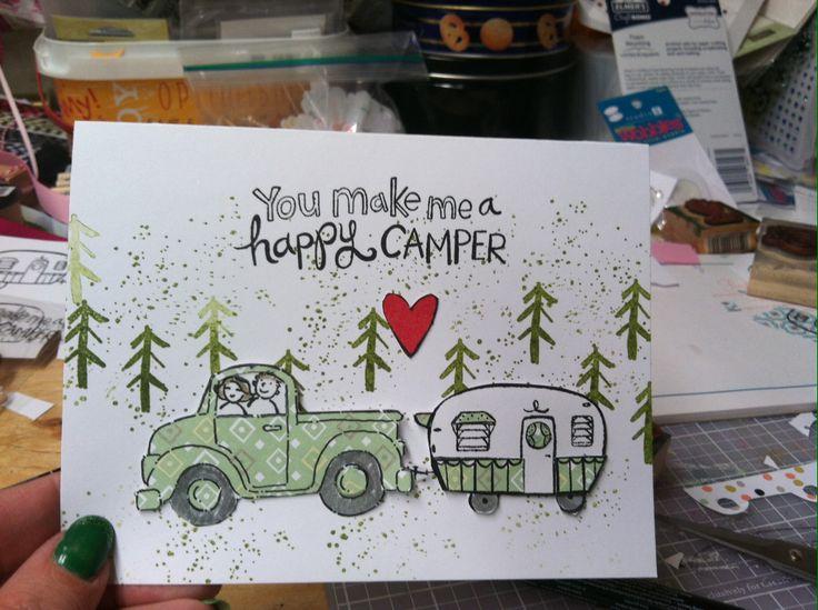 Crazy camper and loads of love