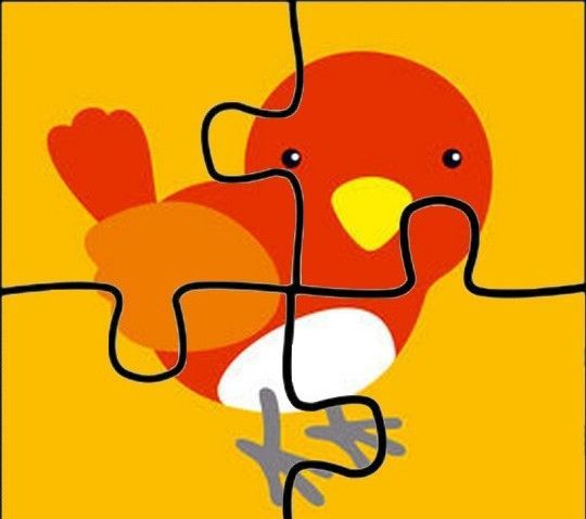 3 Yaş Çocukları İçin Renkli Puzzle Kalıpları - Okul Öncesi Etkinlik Faaliyetleri - Madamteacher.com
