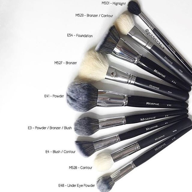 What are your favourite @morphebrushes and what do you use them for? These are my current favourites ...