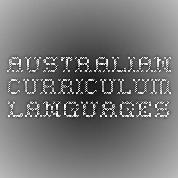 Australian Curriculum Languages
