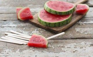 Wassermelone-Scheibe Eis am Stiel, Wassermelone