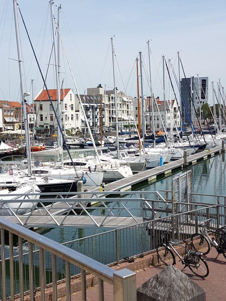 Blick auf den Jachthafen in Vlissingen