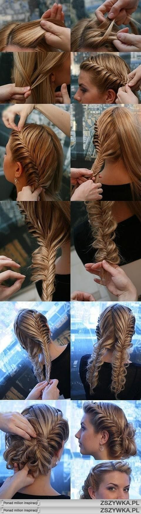 Fishtail updo <3.... need to find some one to try this on