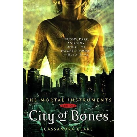 City of Bones (The Mortal Instruments, #1) by Cassandra Clare. This is Lysandra's all time favourite fantasy series. She calls it a must read!
