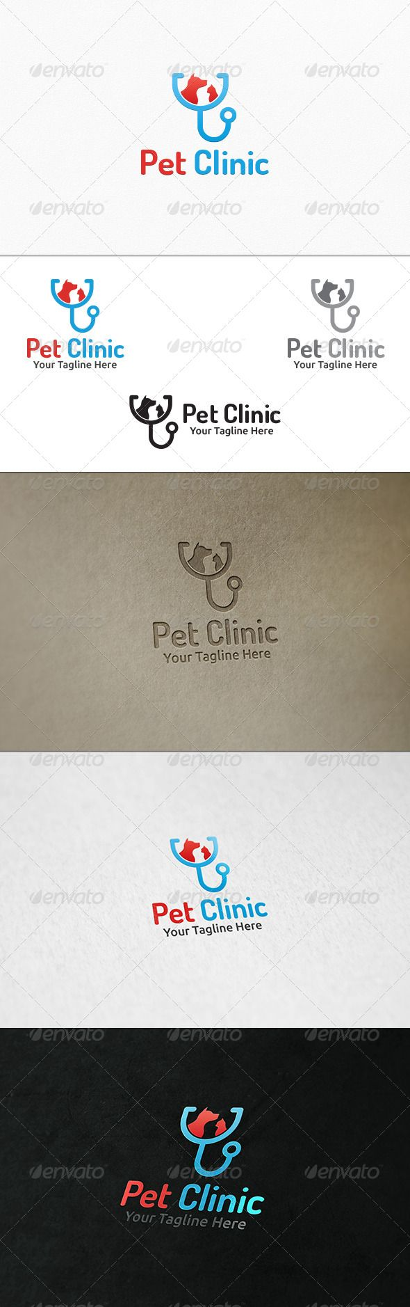 Pet Clinic - Logo Template