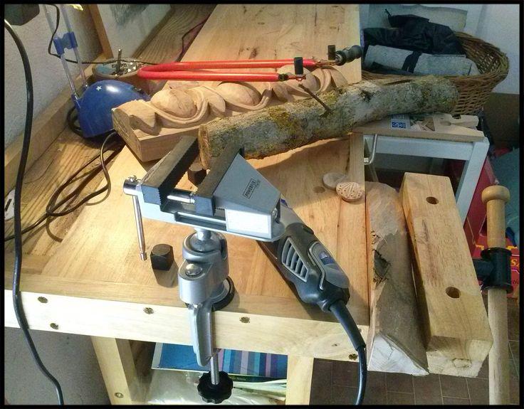 Work (or wood?!) in progress!!