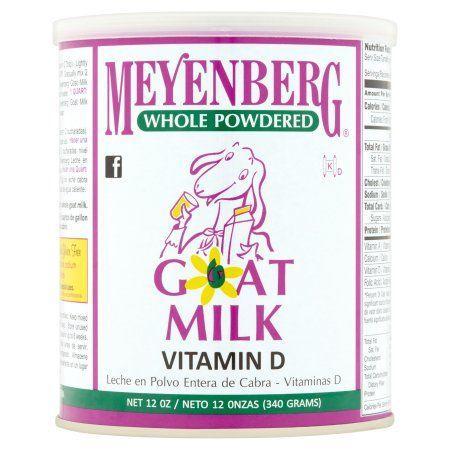 Meyenberg Whole Powdered Goat Milk Vitamin D, 12.0 OZ