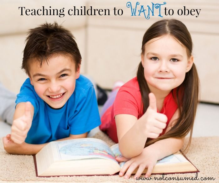Teaching children to WANT to obey. Tips and ideas from the trenches, plus encouragement from God's Word.
