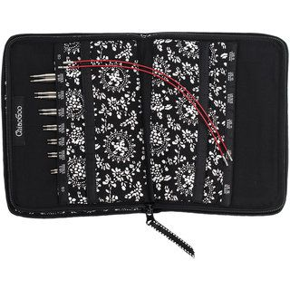 TWIST Red Lace Interchangeable Knitting Needle 4in Tip SetSmall | Overstock.com Shopping - The Best Deals on Knitting Needles