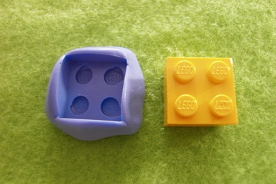 LEGO MOLD/MOULD for Fimo, Cernit, Sculpey