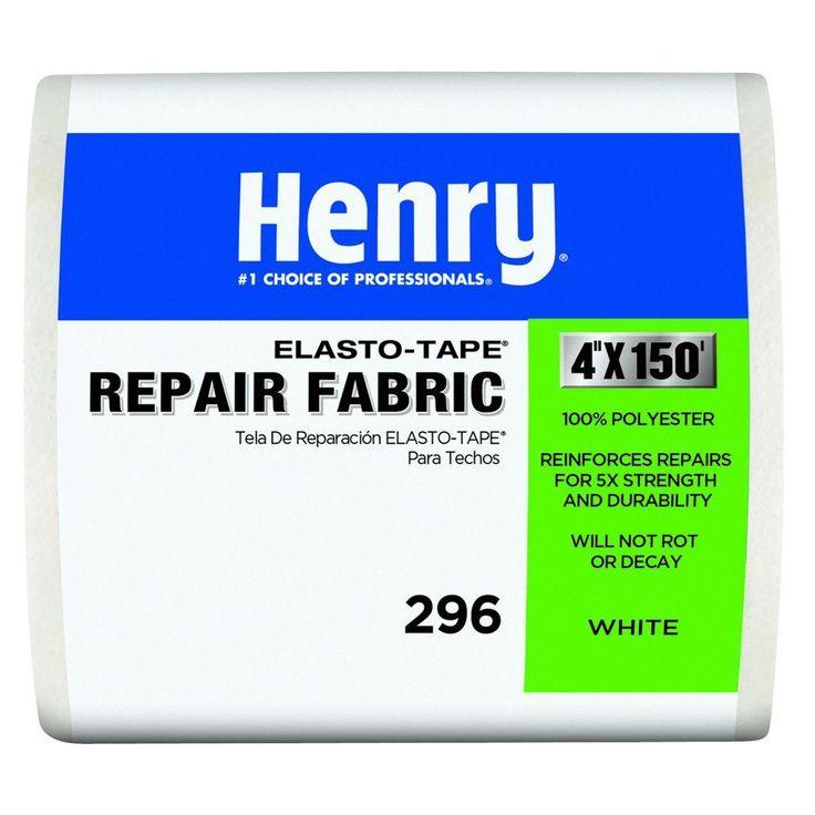 Henry 296 4 in. x 150 ft. Reinforced Fabric Elasto Tape