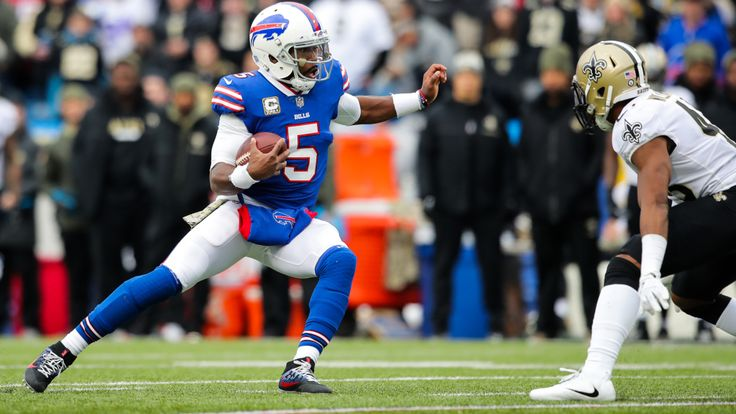 Sean McDermott commits to Tyrod Taylor as starter after Week 10 benching