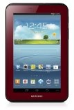 Samsung Galaxy Tab 2 Garnet Red Edition Bundle with Case (7-Inch, Wi-Fi)