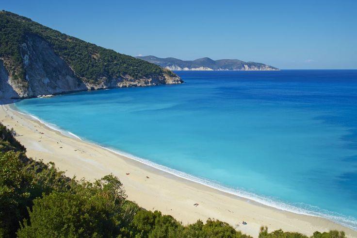 Myrtos Beach. Greece.