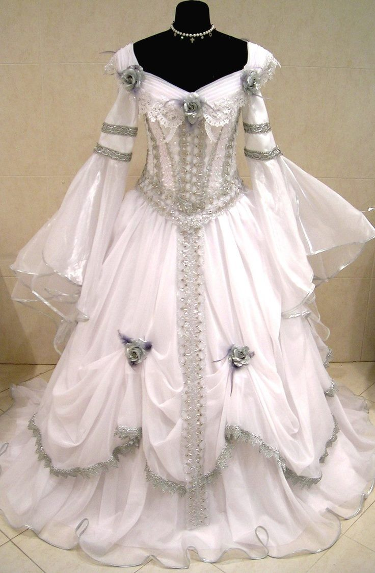 Another one my style pinterest vintage gowns for Belle style wedding dress