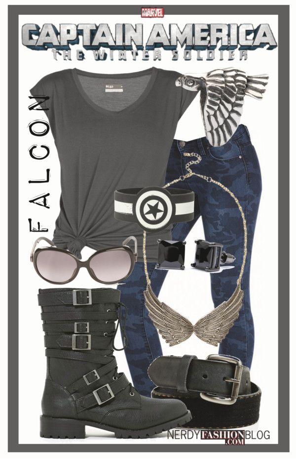 Falcon   Captain America: The Winter Soldier - MARVEL by chelsealauren10