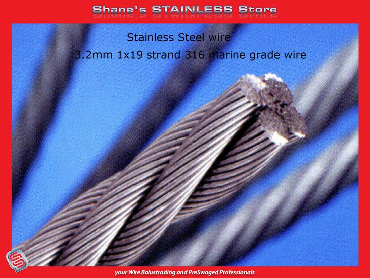 Another term for stainless steel is Inox Steel, the metal is actually an alloy of steel which has a minimum of 10.5% of chromium in it. The most striking trait of a stainless steel is that it doesn't rust, corrode or stain like iron, just like its name suggest. #Steel #Wire