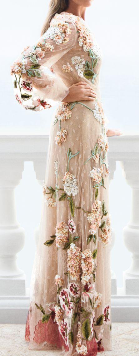 If a beautiful garden were a dress.
