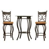 Found it at Wayfair - 3 Piece Beau Counter Height Pub Table Set