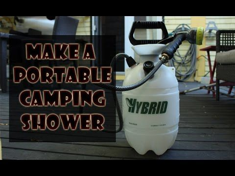 Make a Portable Camping Shower: 4 Steps (with Pictures)