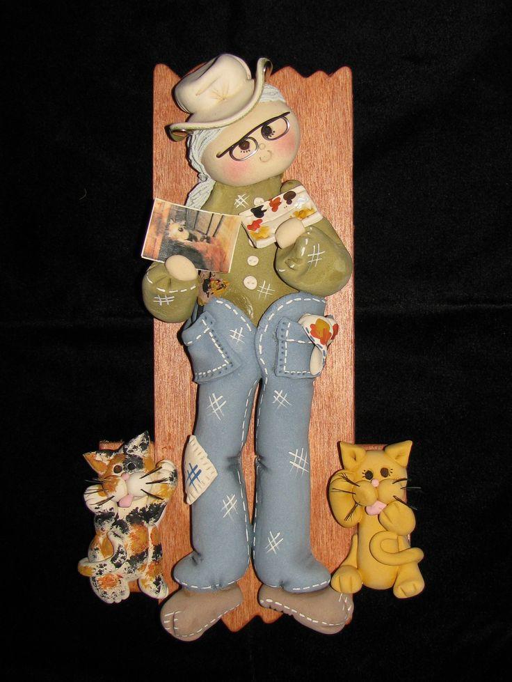 Ken Jackson Dough Art Doll