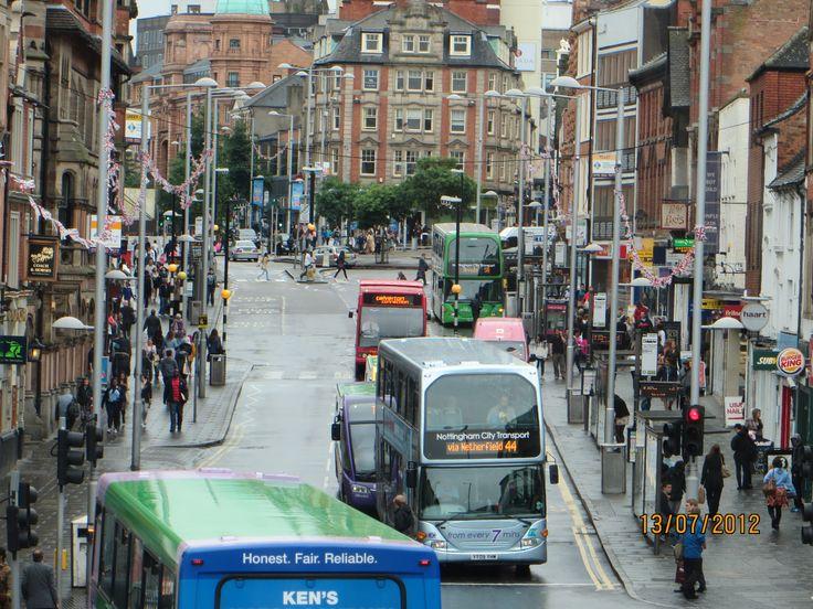 Nottingham city,  England