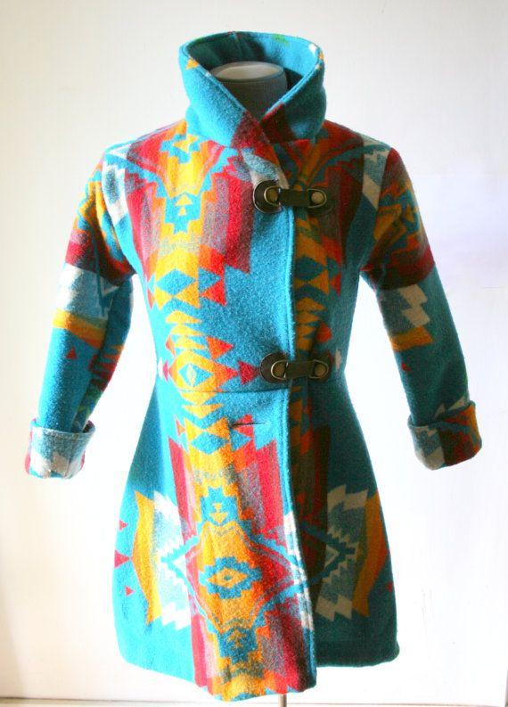 Reserved For Danielle  Custom Wool Navajo by PsychicCeremonies, $150.00