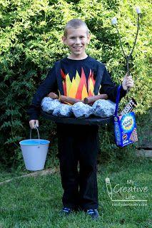 Cindy DeRosier My Creative Life Halloween 2016 Campfire Costume