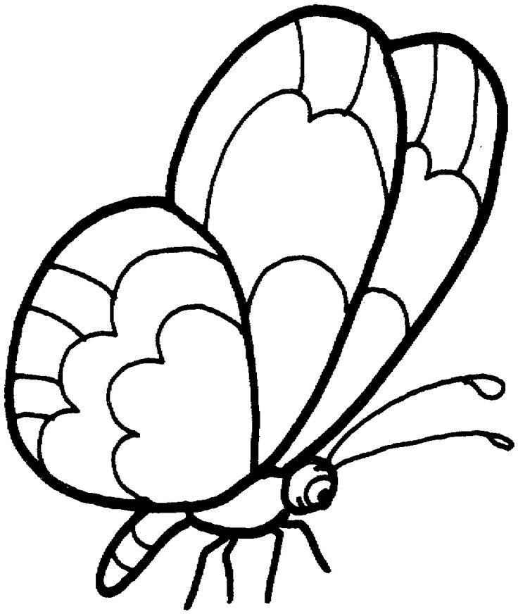 25 best mariposas images on Pinterest | Mariposas para colorear ...