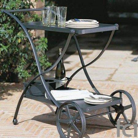 Cassiodoro #Serving_Cart by #Unopiu starting from £510. Showroom open 7 days a week. #fcilondon #furniture_showroom_london #furniture_stores_london #Unopiu_garden_furniture #Unopiu_outdoor_furniture #Modern_Outdoor_Furniture