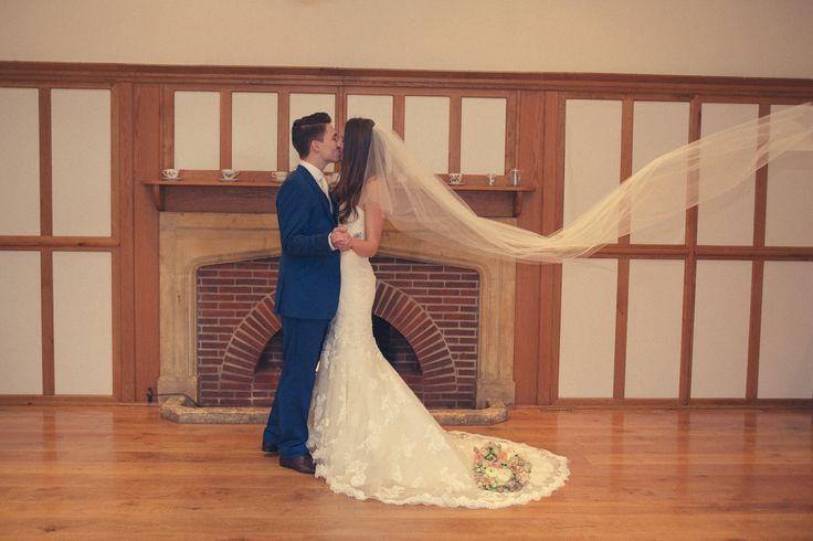 #thehitchcockwedding #vintagewedding #bride&groom #laceweddingdress #longveil #vintageweddingdress