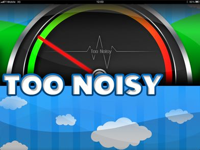 Cool app to use in class showing students that they are getting loud without the teacher having to say anything