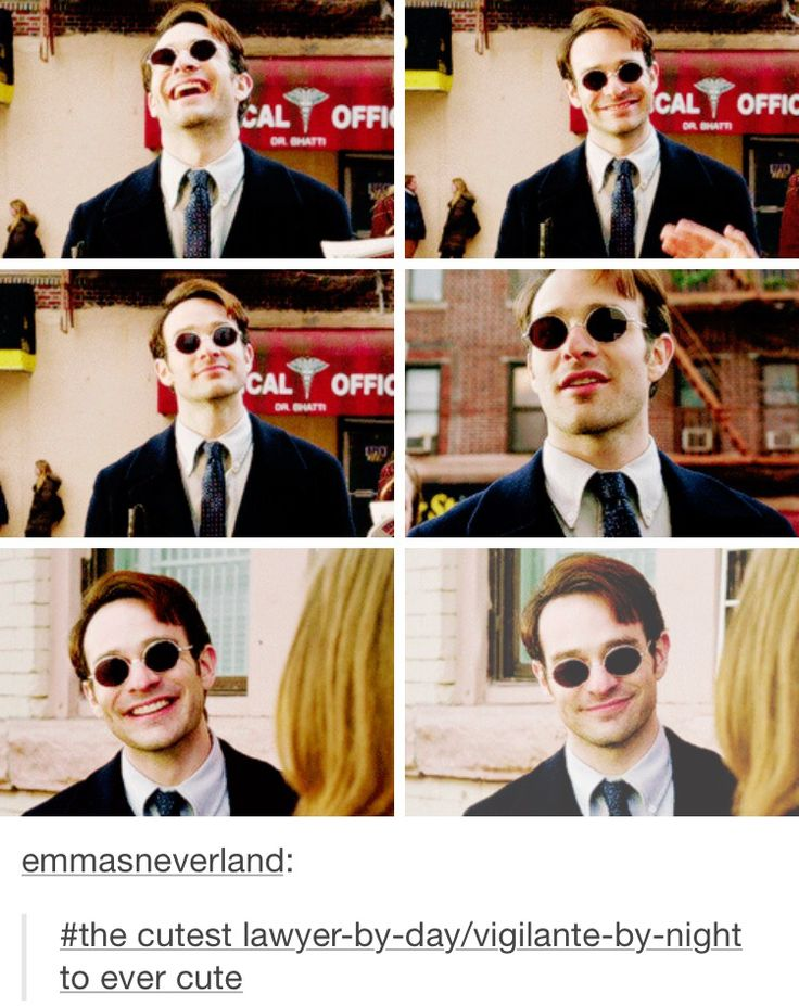 Actual puppy dog Matt Murdock, people.