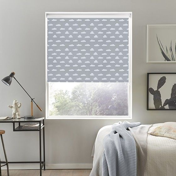 Trend Cloud Nine Grey Roller Blind