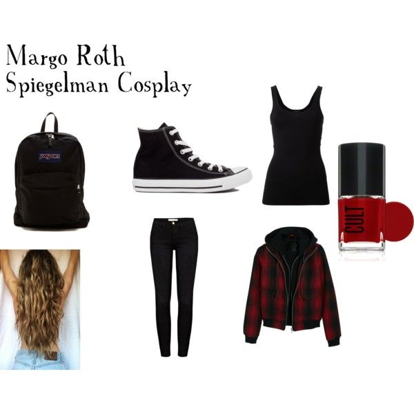 Margo Roth Spiegelman Cosplay by littlemissinvisible12 on Polyvore featuring Theory, R13, Frame Denim, Converse and JanSport