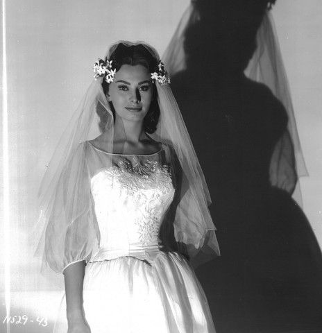 Sofia Loren in Orchidea nera, 1958.