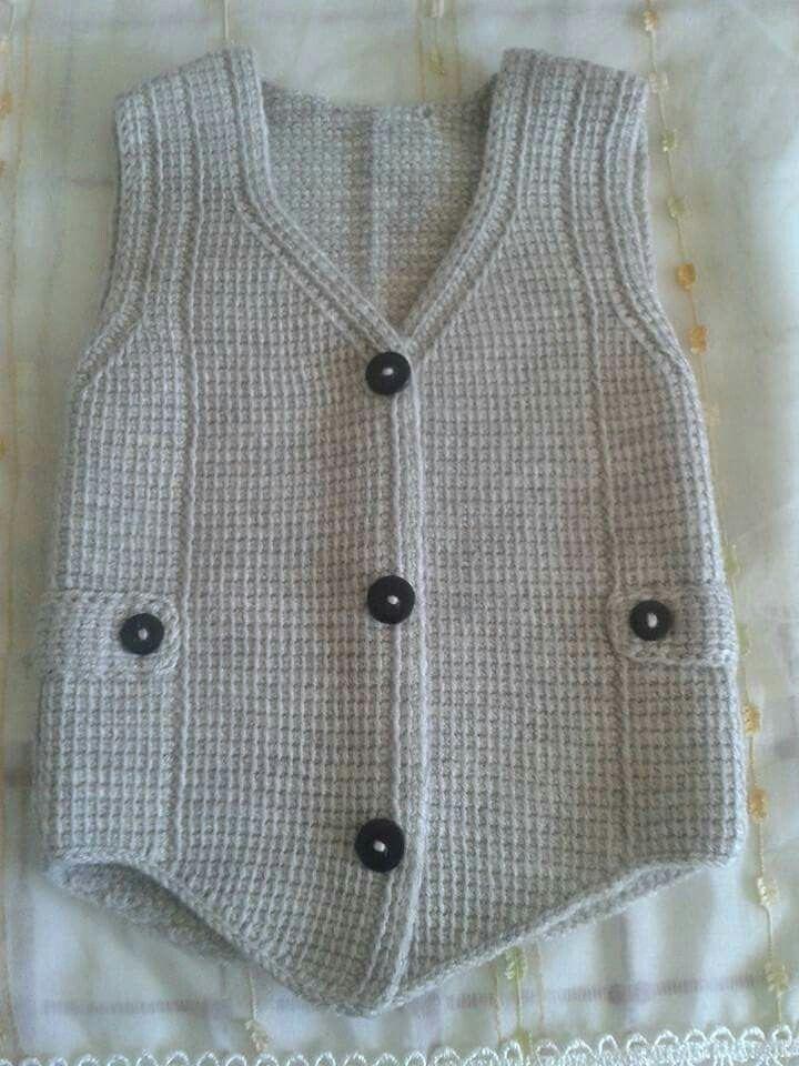 Turkish baby vest model