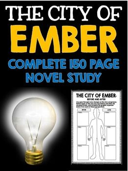 The City of Ember by Jeanne Duprau: Novel Study with Questions, Projects, and ActivitiesSUBJECT: English, Language Arts, Novel StudyLEVEL: Upper Elementary, Middle SchoolAre you on the hunt for a fully integrated, creative, and comprehensive novel study on The The City of Ember by Jeanne Duprau?This huge package of resources contains everything you need to teach a complete novel study on The City of Ember.