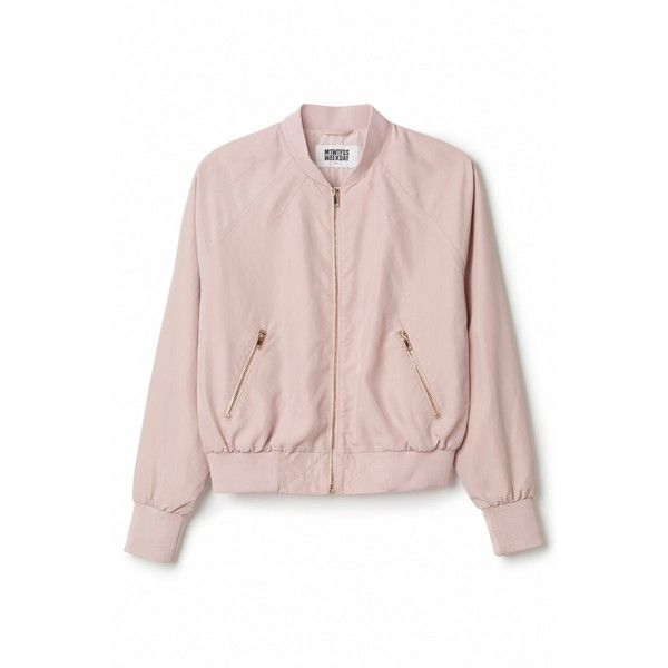 Marigold Bomber Jacket ❤ liked on Polyvore featuring outerwear, jackets, lightweight jackets, bomber jacket, zip pocket jacket, zip jacket and flight jacket
