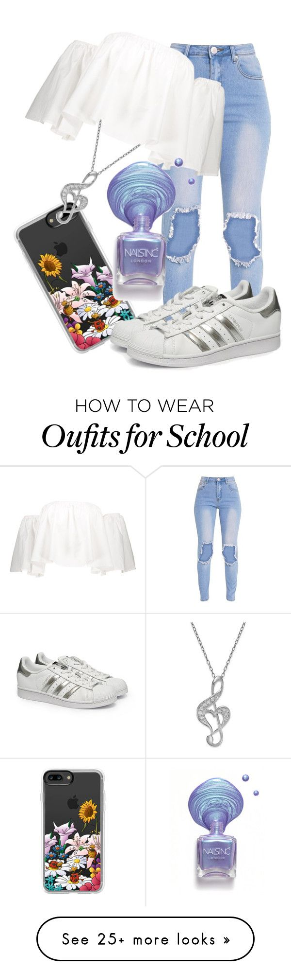 """IDK"" by indianna28-2002 on Polyvore featuring Casetify and adidas"