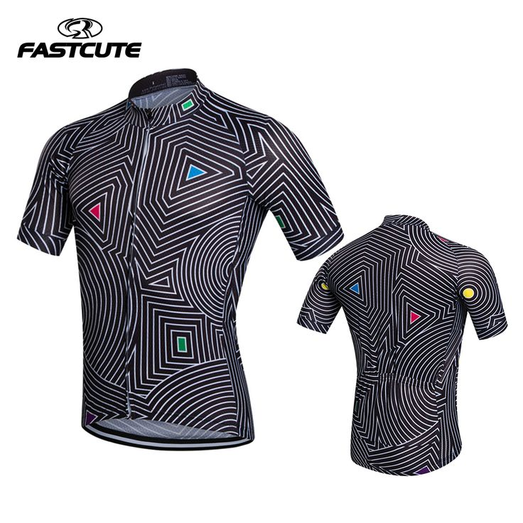 FASTCUTE QuickDry Cycling Jersey Outdoor Sports Bicicleta Jacket Bicycle Bike Skeleton Short Sleeve Shirt Ropa Ciclismo Clothing