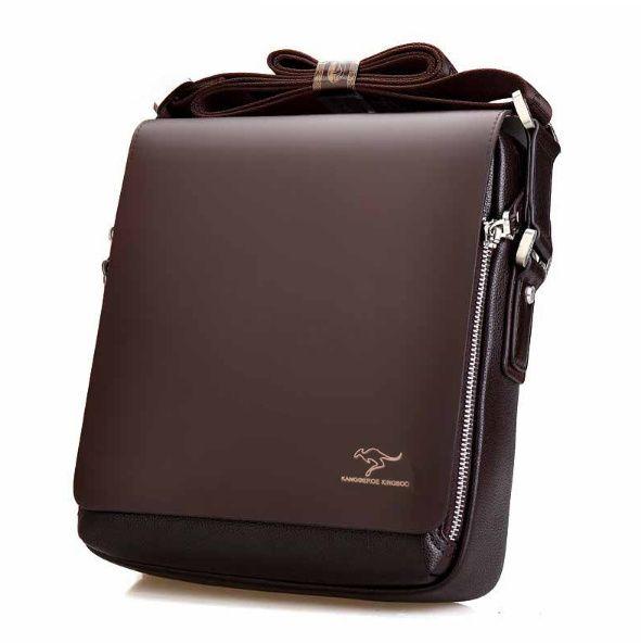 2017 new fashion design leather men Shoulder bags, men's casual business messenger bag,vintage crossbody ipad Laptop briefcase