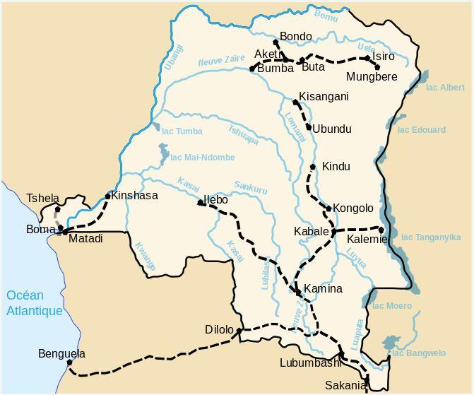 Best GO Maps Congo Images On Pinterest Maps - democratic republic of the clickable map