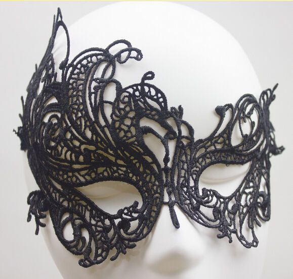 Black Sexy Lace Eye Mask Venetian Masquerade Fancy Dress Party Halloween 1Pcs CH #UnbrandedGeneric