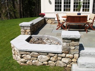 Corner Fire Pit Design Ideas, Pictures, Remodel, and Decor