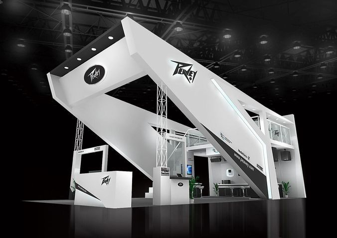 Exhibition Stand Vray : Exhibition area dmax d model models