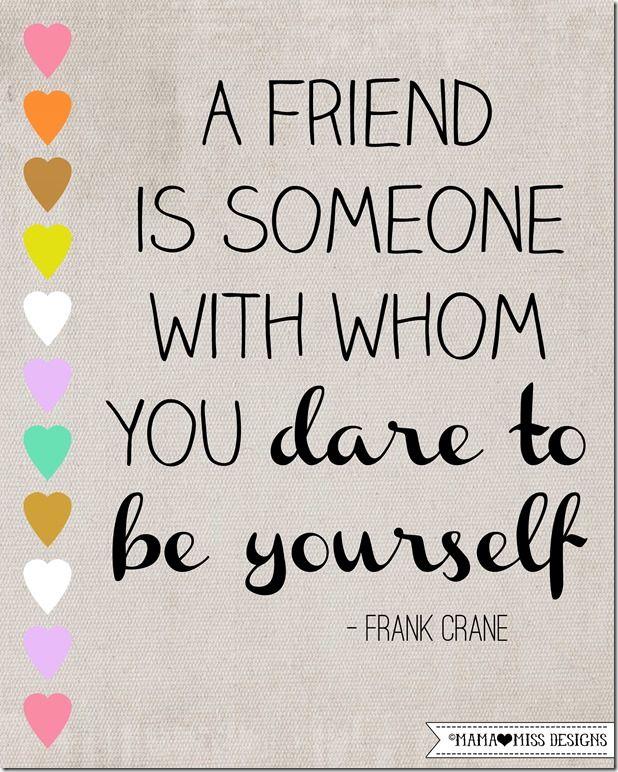 Friendship Graphic Quote #greatquotes #friendship @mamamissblog