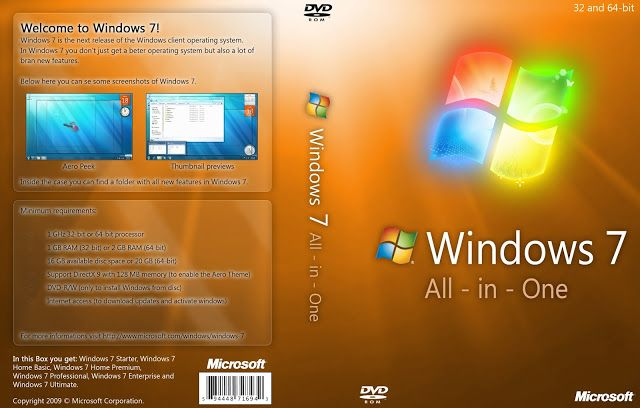 Windows 7 All in One 64-Bit ISO free Download Windows 7 64Bit All in