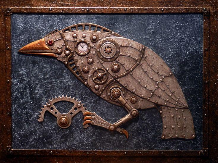 Steam powered Bird